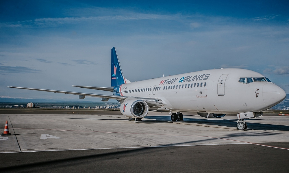 Myway Airlines The New Georgian Airline Launches Flights To Tel